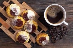 曲奇饼和咖啡 图库摄影