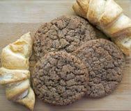 曲奇饼和饼干 免版税库存照片