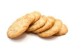 曲奇饼堆糖 免版税库存图片