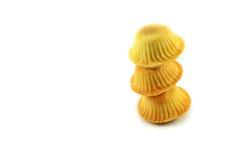 曲奇饼堆 免版税库存图片