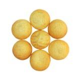 曲奇饼小组的柠檬 库存图片