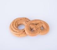 曲奇饼或手工制造被分类的曲奇饼在背景 库存图片