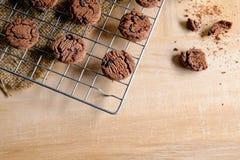 曲奇饼新鲜从烤箱 库存图片