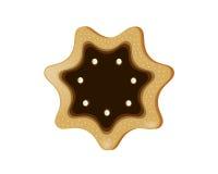 曲奇饼星形 免版税库存图片