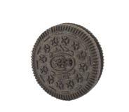 曲奇饼查出的唯一 免版税库存照片