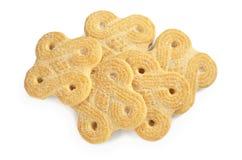 曲奇饼甜白色 库存图片