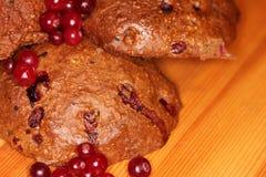 曲奇饼用莓果8 库存照片