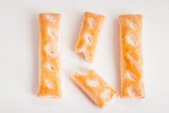曲奇饼由甜酥皮点心制成 库存照片
