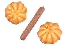 曲奇饼百分比符号 免版税库存照片