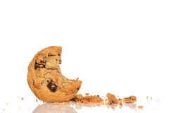 曲奇饼碎屑 库存图片