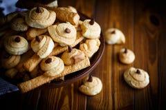 曲奇饼自创甜点 免版税库存图片