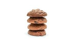 曲奇饼芯片和糖屑曲奇饼 免版税图库摄影