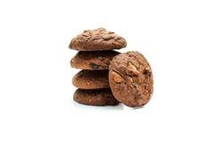 曲奇饼芯片和糖屑曲奇饼 免版税库存图片