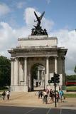 曲拱伦敦惠灵顿 免版税图库摄影