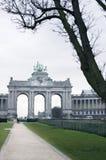 曲拱凯旋式的布鲁塞尔 免版税库存图片