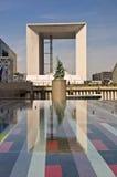 曲拱商业区法国全部巴黎 免版税库存图片