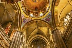 曲拱圆顶烈士教会圣洁坟墓耶路撒冷以色列 免版税库存图片