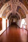 曲拱在Kykkos修道院里 免版税库存照片