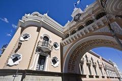 曲拱城市危地马拉 图库摄影