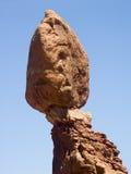 曲拱平衡特写镜头国家公园岩石犹他 库存图片
