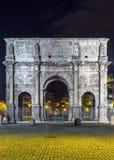曲拱康斯坦丁罗马 库存图片