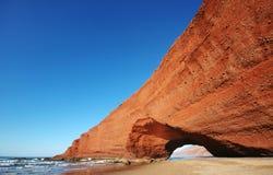 曲拱形成岩石 库存图片