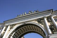 曲拱彼得斯堡st 免版税库存图片