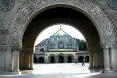 曲拱斯坦福大学 免版税库存图片