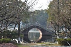 曲拱桥梁汉语 免版税库存图片