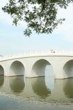 曲拱桥梁 免版税库存图片