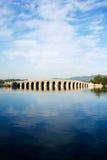 17曲拱桥梁 库存照片
