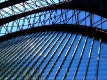 曲拱玻璃 图库摄影