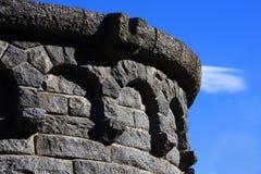 曲拱石头 库存图片