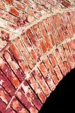 曲拱砖 免版税图库摄影