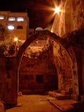曲拱耶路撒冷 库存照片