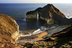 曲拱英国自然约克夏 库存图片