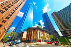曲拱街道长老会在PA的费城 免版税库存图片