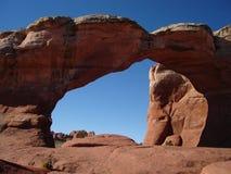 曲拱被中断的线索 免版税图库摄影