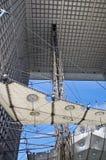 曲拱防御全部la 免版税图库摄影