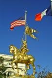 曲拱雕象的霍安在新奥尔良 库存图片