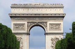 曲拱巴黎胜利 免版税库存图片