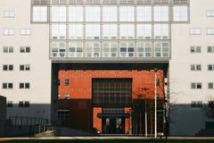 曲拱bicocca大厦意大利la米兰 库存照片