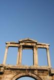 曲拱hadrian s 库存图片