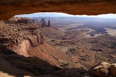 曲拱mesa视图 库存照片