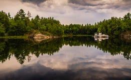 曲棍海湾3,乔治湾安大略,加拿大 免版税图库摄影