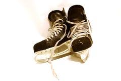曲棍球冰鞋 免版税图库摄影