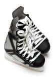 曲棍球冰鞋 库存照片