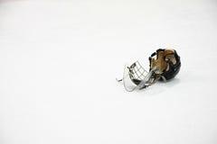 曲棍球冰 免版税库存图片