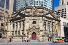 曲棍球名人堂大厦在多伦多 免版税图库摄影