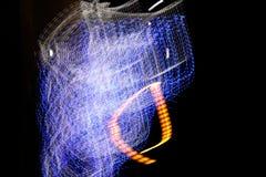 曲线光 库存照片